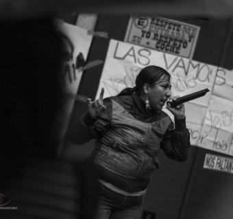Toquín Feminista  CONTRA LA VIOLENCIA FEMINICIDA