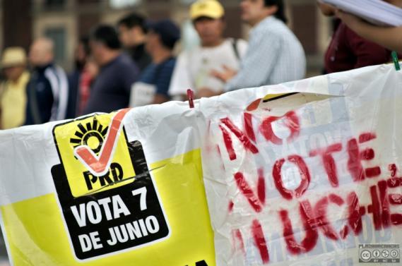 La basura electoral y su represión