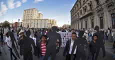 Chihuahua: marcha en solidaridad con Ayotzinapa